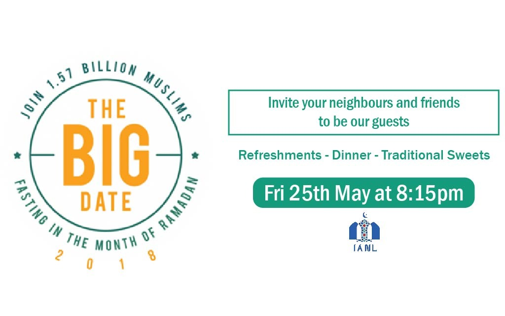 The Big Date – Fri 25th May