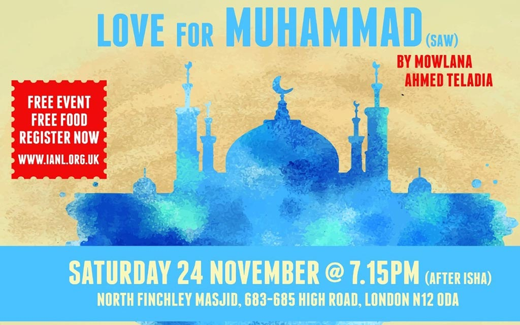 Monthly Halaqah – Love for Muhammad (SAW)