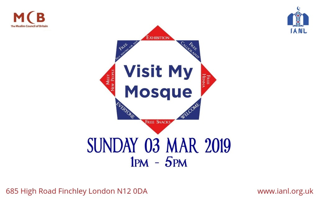Visit My Mosque – Sun 3 March