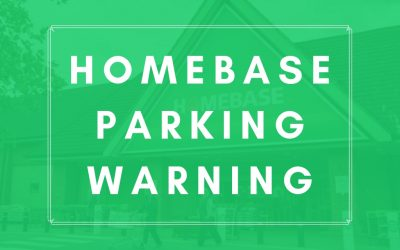 Homebase Parking Warning