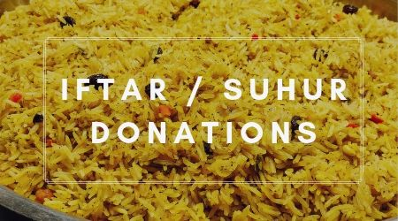 Iftar Suhur Donations