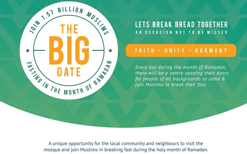 Big Date Iftar on Sun 19 May