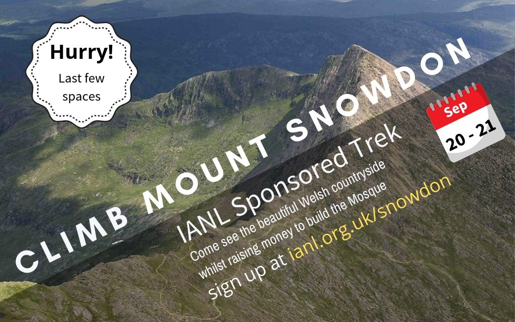Hurry! Last few spaces for Snowdon Trek