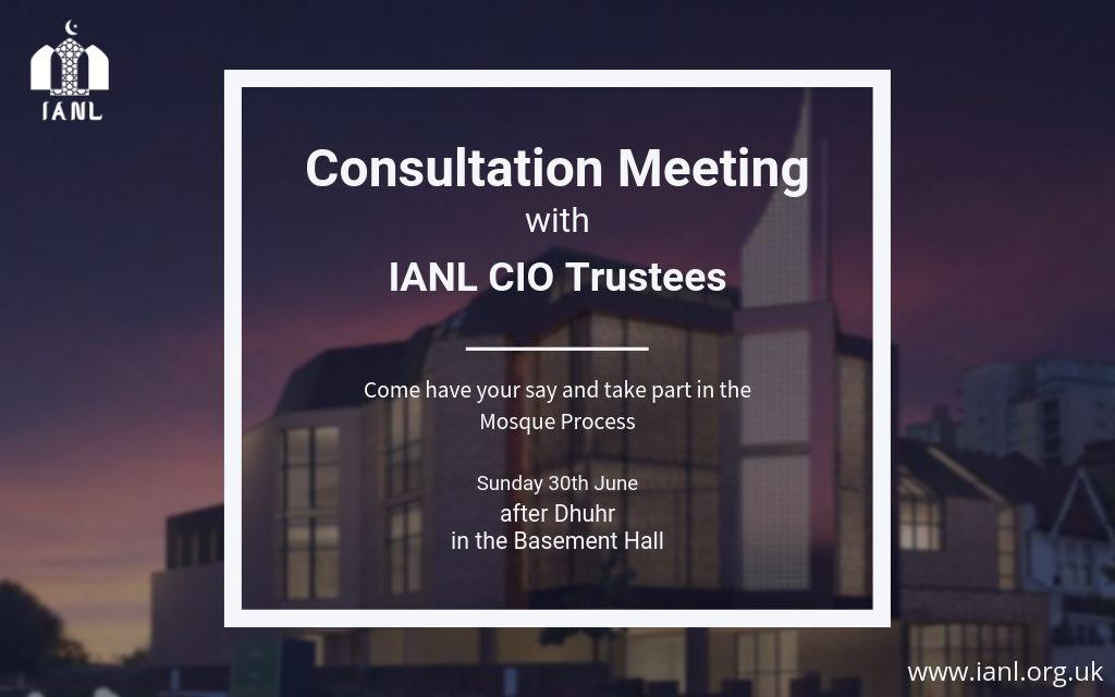 Consultation Meeting 30 Jun 2019