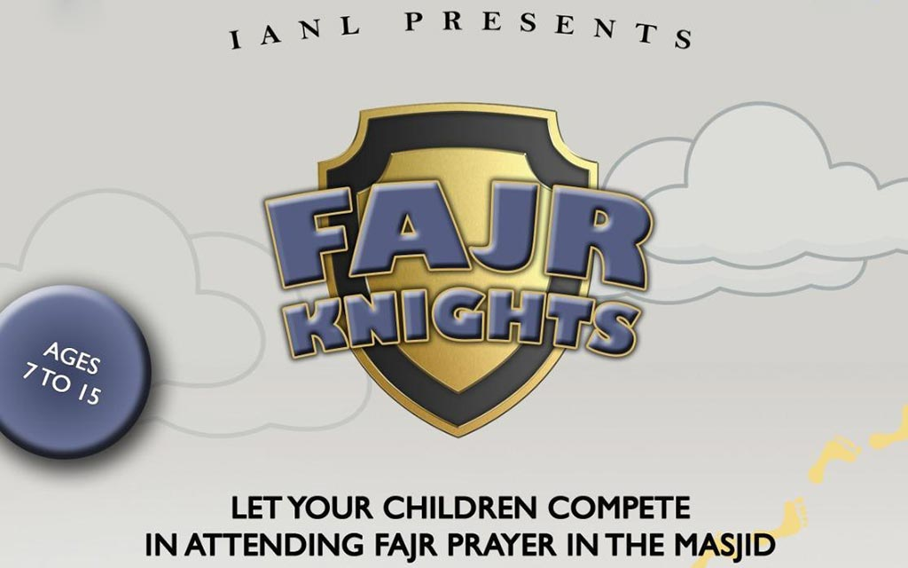 Fajr Knights starting 21 Dec