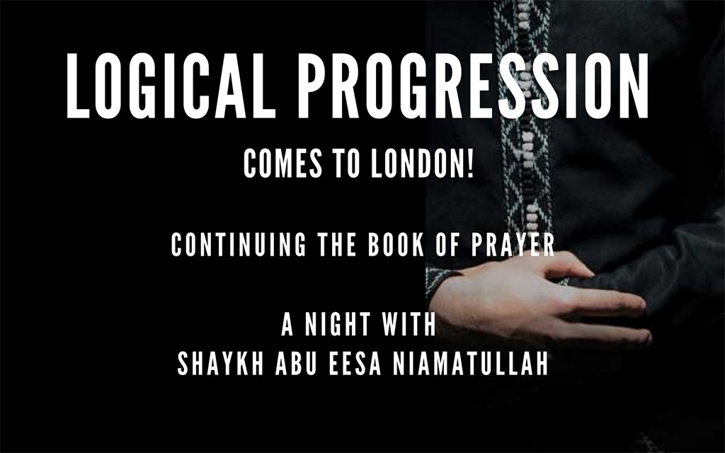 Logical Progression Comes to London | 25th Dec, 8pm