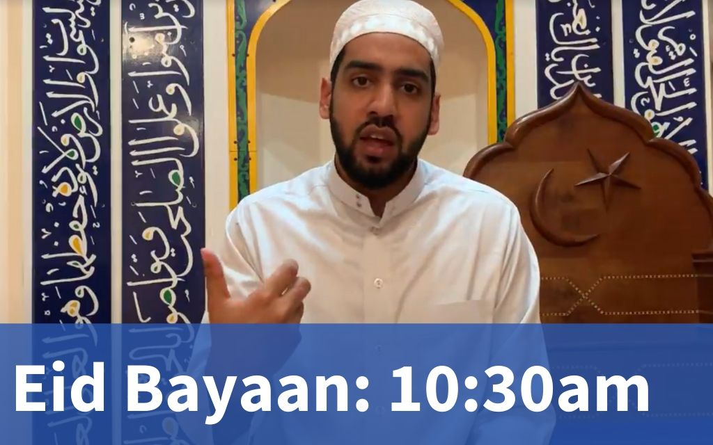 Eid Bayaan at 10:30am