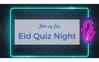 Eid Quiz Night at 7:30pm