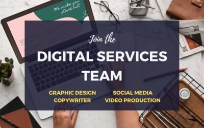 Volunteers needed for Digital Services Team